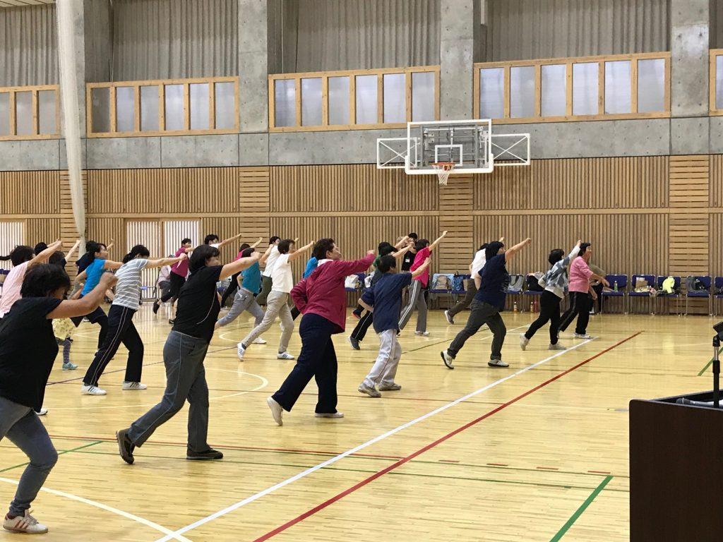中之口中学校で、にしかんみんなの体操やってみました!