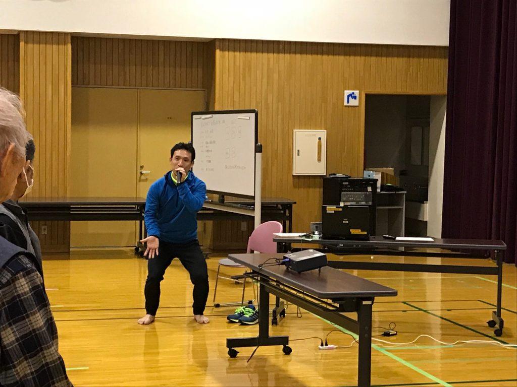 2月13日に行いました健康教室。
